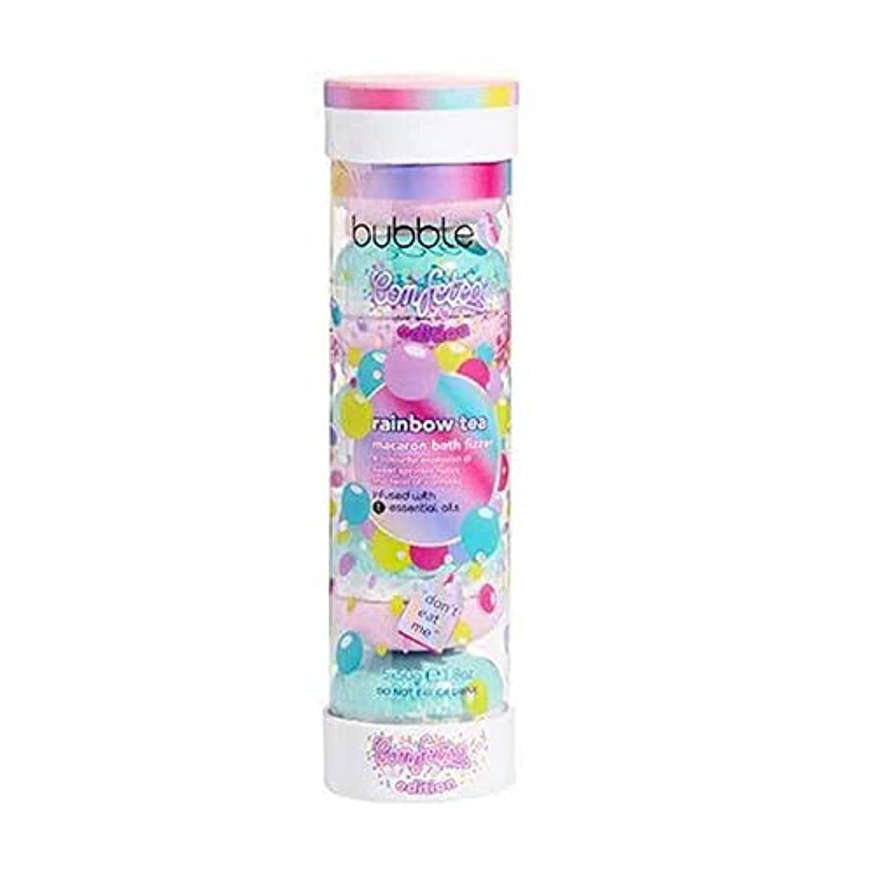 花婿クック将来の[Bubble T ] バブルトン化粧品のマカロンバスFizzer虹茶5×50グラム - Bubble T Cosmetics Macaron Bath Fizzer Rainbow Tea 5 x 50g [並行輸入品]