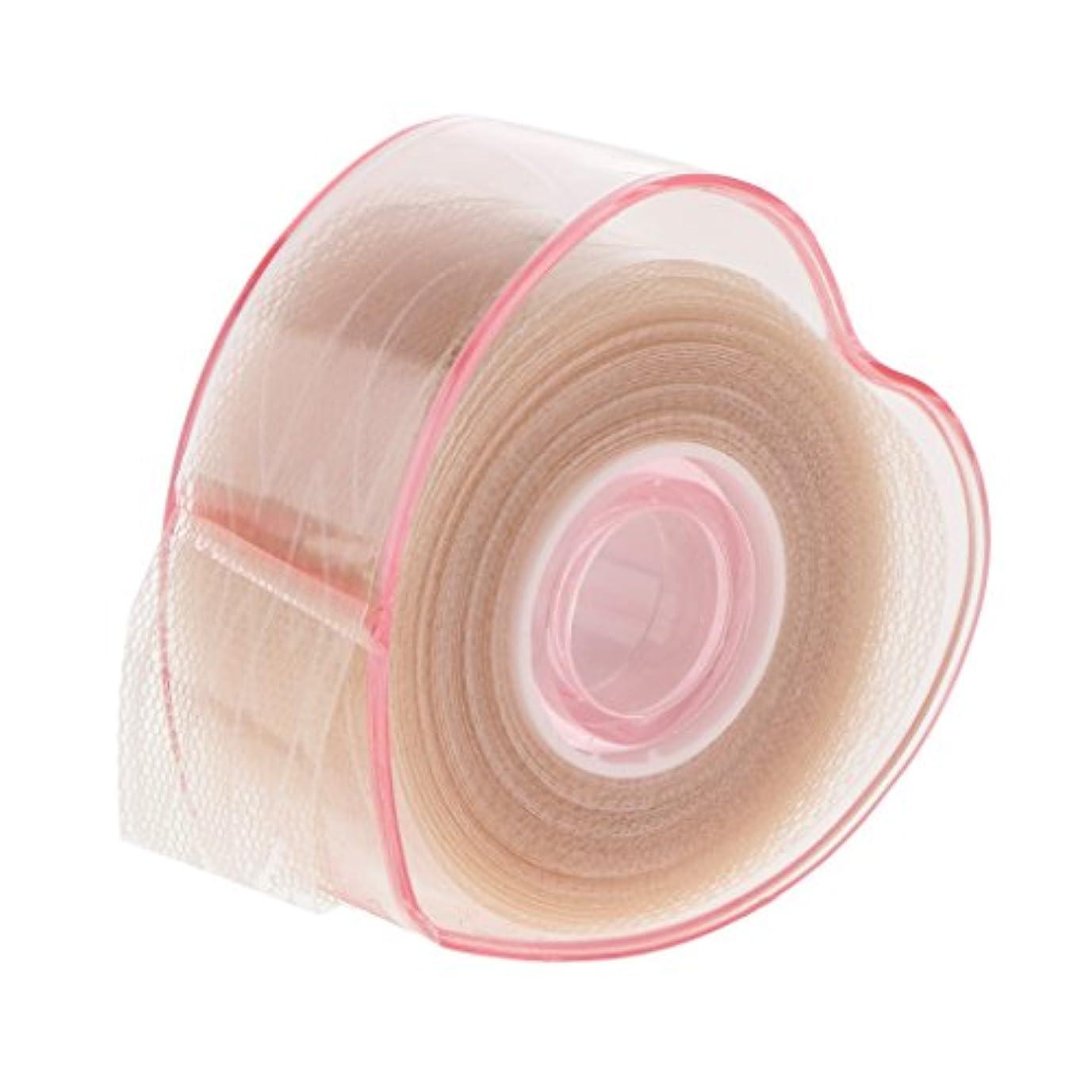 Blesiya 二重まぶたロール 二重まぶた テープロール 繊維 レース メッシュ 粘着性なし メイクアップ アイメイク 自然 4タイプ選べる - c