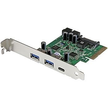 Amazon | スターテック.com 5ポート USB 3.1(10Gbps)増設PCIe拡張カード 1x ...
