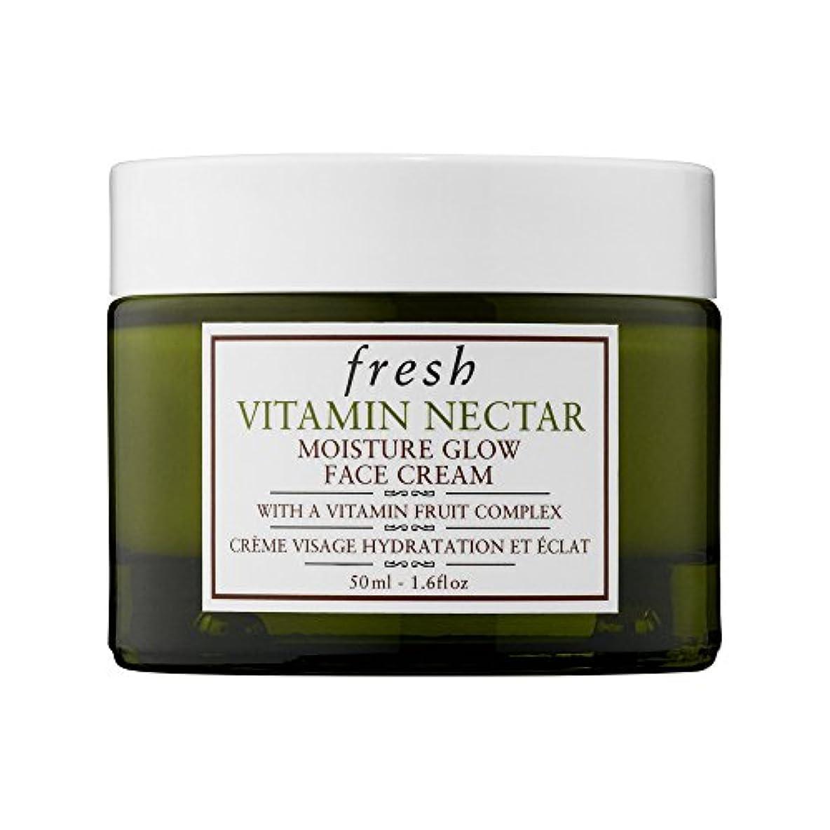 キルトしわ虐待フレッシュ Vitamin Nectar Moisture Glow Face Cream 50ml/1.6oz並行輸入品