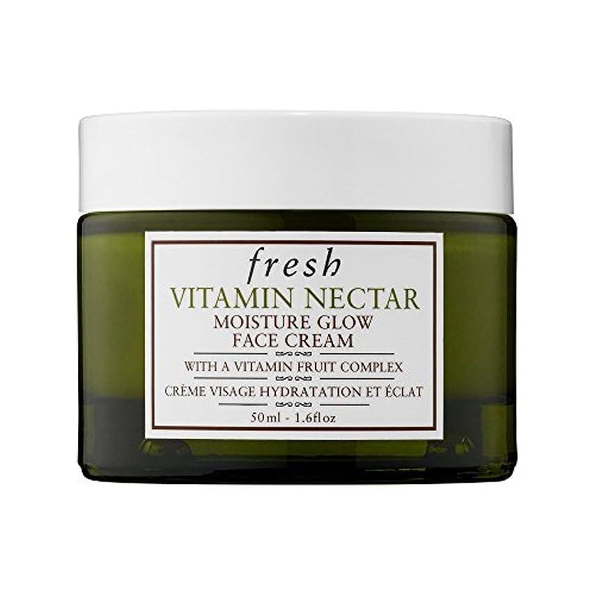 うめき応じるディレクトリフレッシュ Vitamin Nectar Moisture Glow Face Cream 50ml/1.6oz並行輸入品