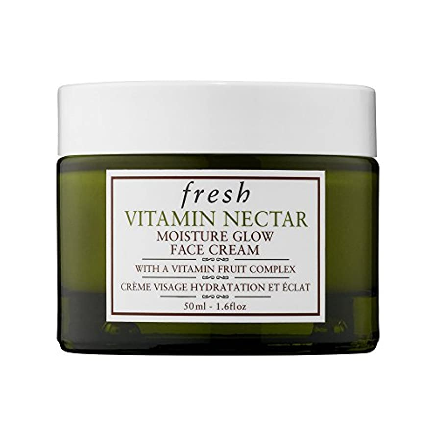 活発仲間相反するフレッシュ Vitamin Nectar Moisture Glow Face Cream 50ml/1.6oz並行輸入品