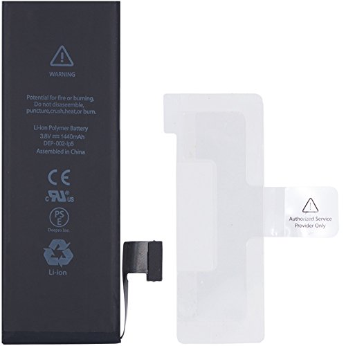 Deepro iphone5 交換用 バッテリー 1440mAh PSE基準 固定用テープ付き (iphone5)