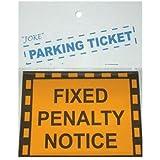 Bristol Novelty Yellow Joke Parking Ticket General Jokes - Men's - One Size