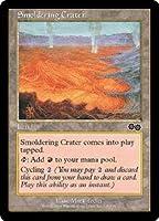 英語版 ウルザズ・サーガ Urza's Saga USG 薄煙の火口 Smoldering Crater マジック・ザ・ギャザリング mtg