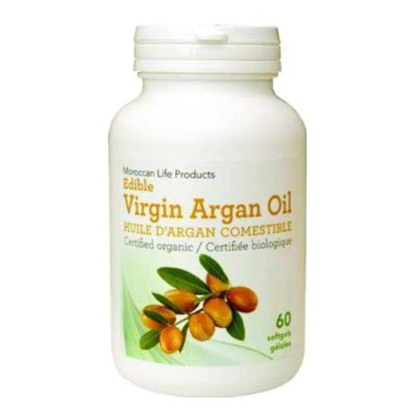 鰐若者所持Edible Argan Softgels