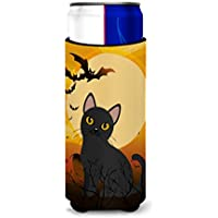 Caroline 's TreasuresハロウィンBombay Cat Michelob Ultra Hugger Forスリム缶、スリムCan、マルチカラー