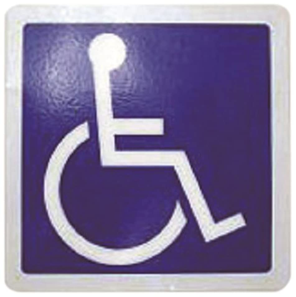 罪歴史的暴露フジホーム車用安心マーク 車椅子マーク マグネットタイプ