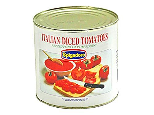 【業務用】 Spigadoro (スピガドーロ) ダイス トマト缶 2550g