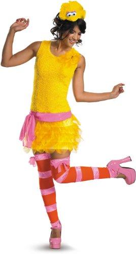 Sesame Street - Big Bird Sassy Female Adult Costume セサミストリート - ビッグバード生意気な女性の大人用コスチューム♪ハロウィン♪サイズ:Large (12-14)