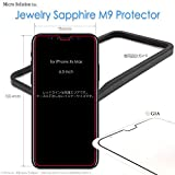 Jewelry Sapphire M9 Protector 人工サファイア最強の画面保護 (6.5-inch iPhone Xs Max, M9 SAPPHIRE CRYSTAL)
