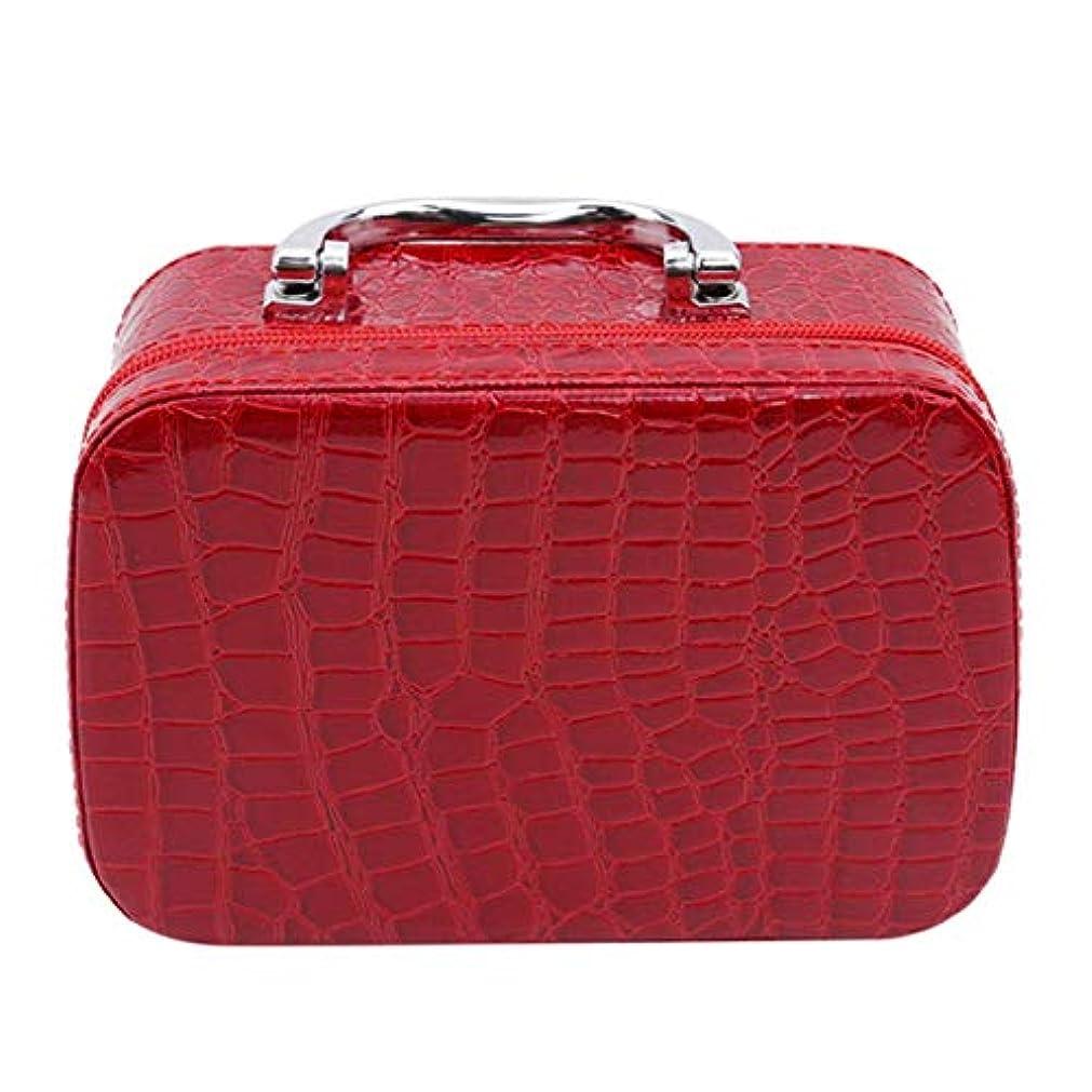 真実時間とともに配る1st market ミラーが付いている優れた旅行携帯用化粧品袋のオルガナイザーの女性の化粧品の箱