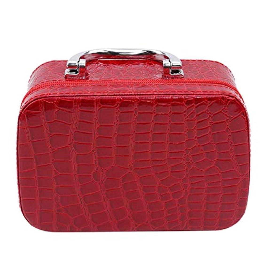 軍麻痺させる新しい意味1st market ミラーが付いている優れた旅行携帯用化粧品袋のオルガナイザーの女性の化粧品の箱