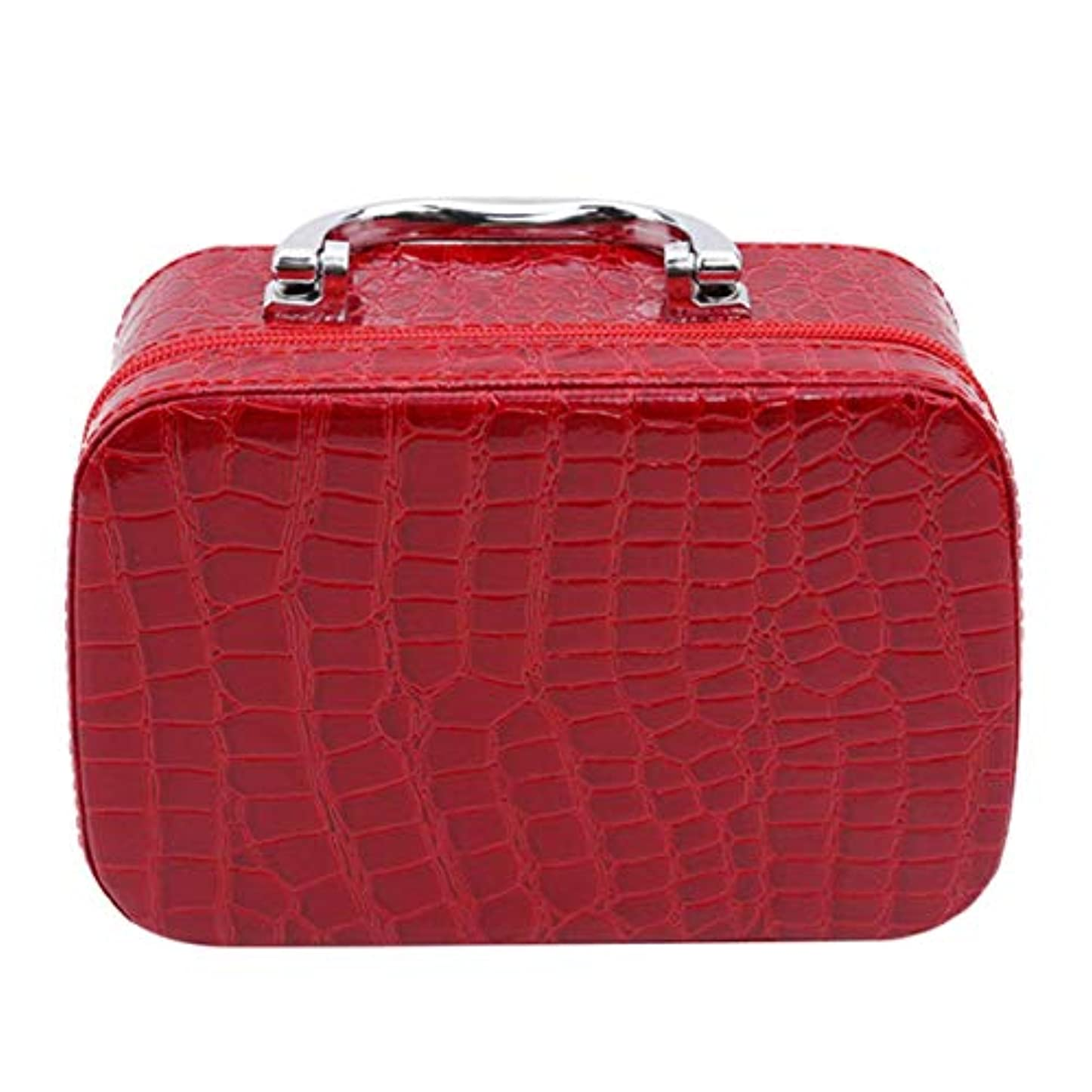 付属品歩道インタラクション1st market ミラーが付いている優れた旅行携帯用化粧品袋のオルガナイザーの女性の化粧品の箱