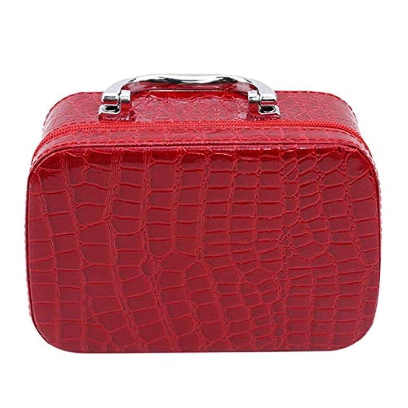 地下室幸福スナッチ1st market ミラーが付いている優れた旅行携帯用化粧品袋のオルガナイザーの女性の化粧品の箱