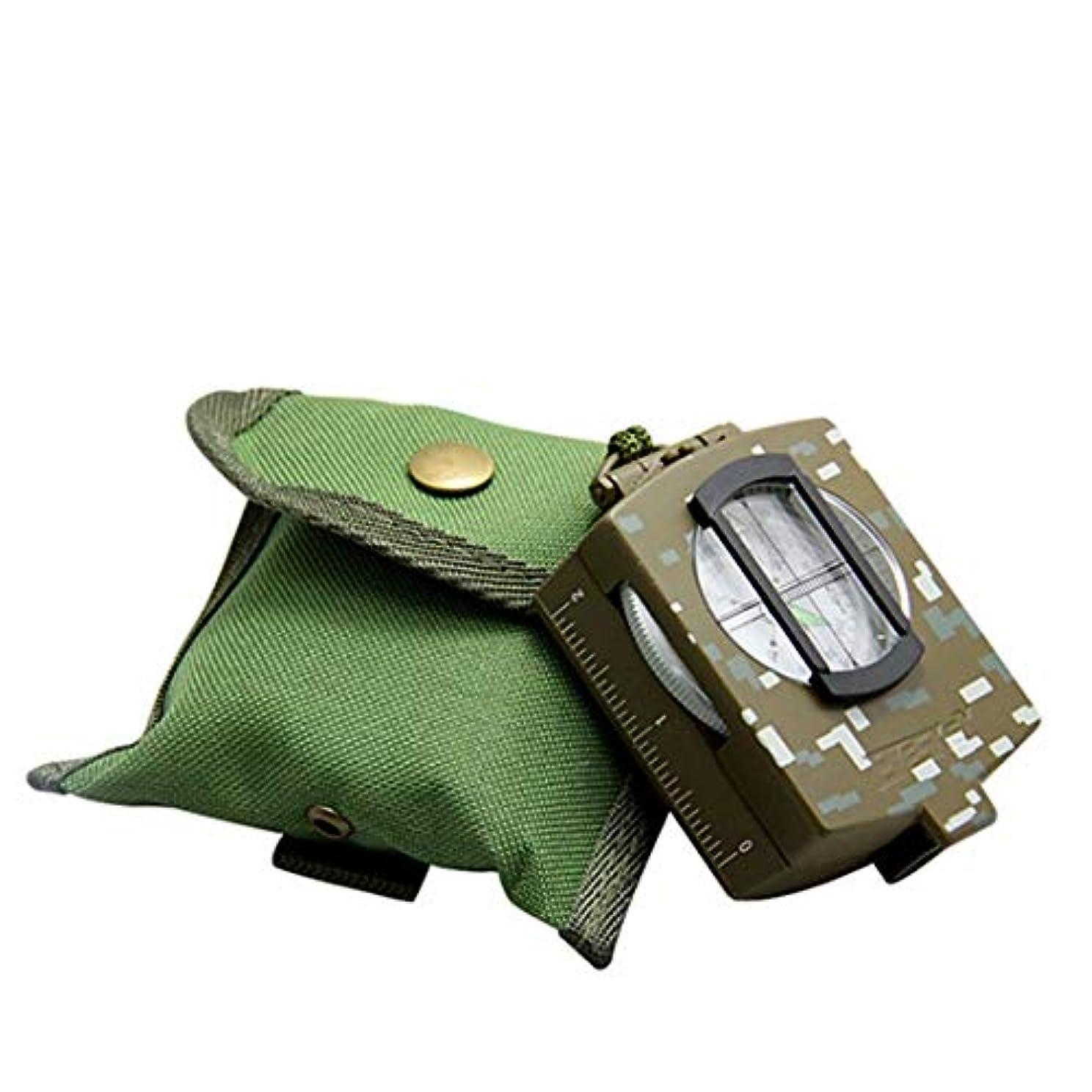 耐久テレマコスハイランドCAFUTY コンパス地質コンパスNoctilucentツアーパル屋外機器 (Color : Camouflage)