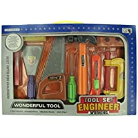 Pretend Engineer, Building and Construction - Fixing and Repairing Tools. 1 Play Set by bulk buys [並行輸入品]
