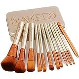 初心者用化粧筆のための12の化粧筆美容化粧キット
