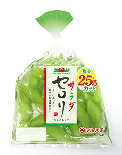 浅漬セロリ110g(5個セット)サラダ感覚で食べられるあさ漬です。クール便でお届け