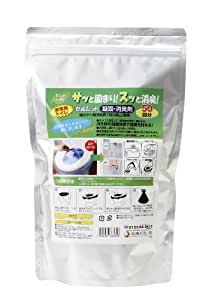 後藤 【サッと固まり、スッと消臭】水を使わない非常用トイレセルレット(凝固・脱臭剤) S-50G