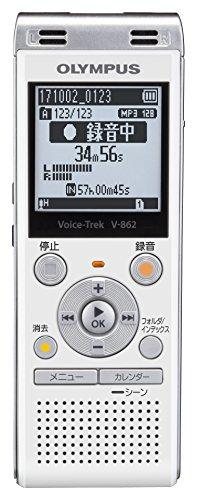 OLYMPUS Voice Trek ICレコーダー ホワイト...