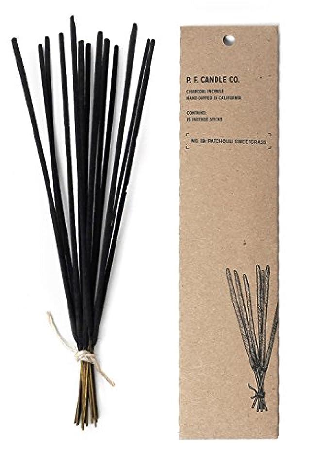 取り除く鼓舞する母性p.f. Candle Co。 – No。19 : Patchouli Sweetgrass Incense 2-Pack