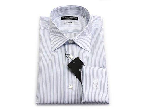 DOLCE&GABBANA ドルチェ&ガッバーナ カッターシャツ HQ1000T 25342 80001 ライトブルー ドレスシャツ Yシャツ サイズ38...