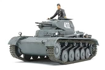 タミヤ 1/48 ミリタリーミニチュアシリーズ No.70 ドイツ陸軍 II号戦車 A~C型 フランス戦線 プラモデル 32570