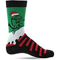 Christmas Socks For Men Crazy Dress Socks For Men: Mens Funny, Cool, Funky, Colorful Holiday