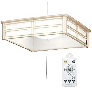 アイリスオーヤマ LED ペンダントライト 調光 調色 タイプ ~6畳 和風 PLC6DL-J