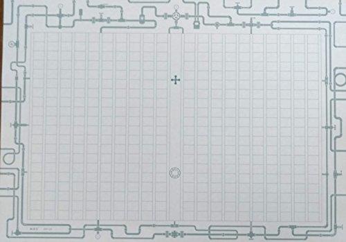飾り原稿用紙 A4 (鋼導管)