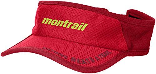 (モントレイル)montrail(モントレイル) ナッシングビーツアトレイル ランニングバイザー2 XU1088 691 ブライトレッド O/S