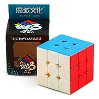 Roshion 新しいホット Cube Speed Magic Cube 3x3x3プロフェッショナルパズルキューブ