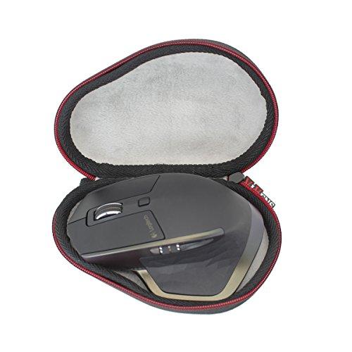 Logicool VIVENS のために MX Master 2S MX2100sGR MX2000 Bluetooth ワイヤレスレーザーマウス スーパー便利な ハードケースバッグ 専用旅行収納 対応-VIVENS