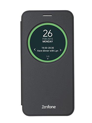 エイスース ASUS ZenFone2 Laser (ZE500KL) 専用フリップカバー(ブラック)View Flip Cover 90AC00G0-BCV013