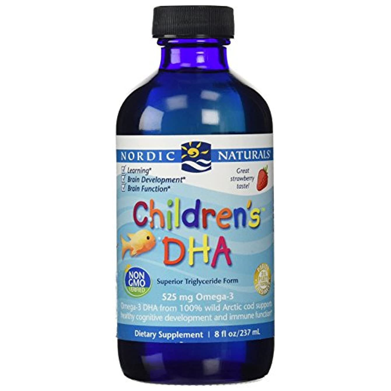 成人期スローブルーム海外直送品 Nordic Naturals - Children's DHA - 8 oz [並行輸入品]