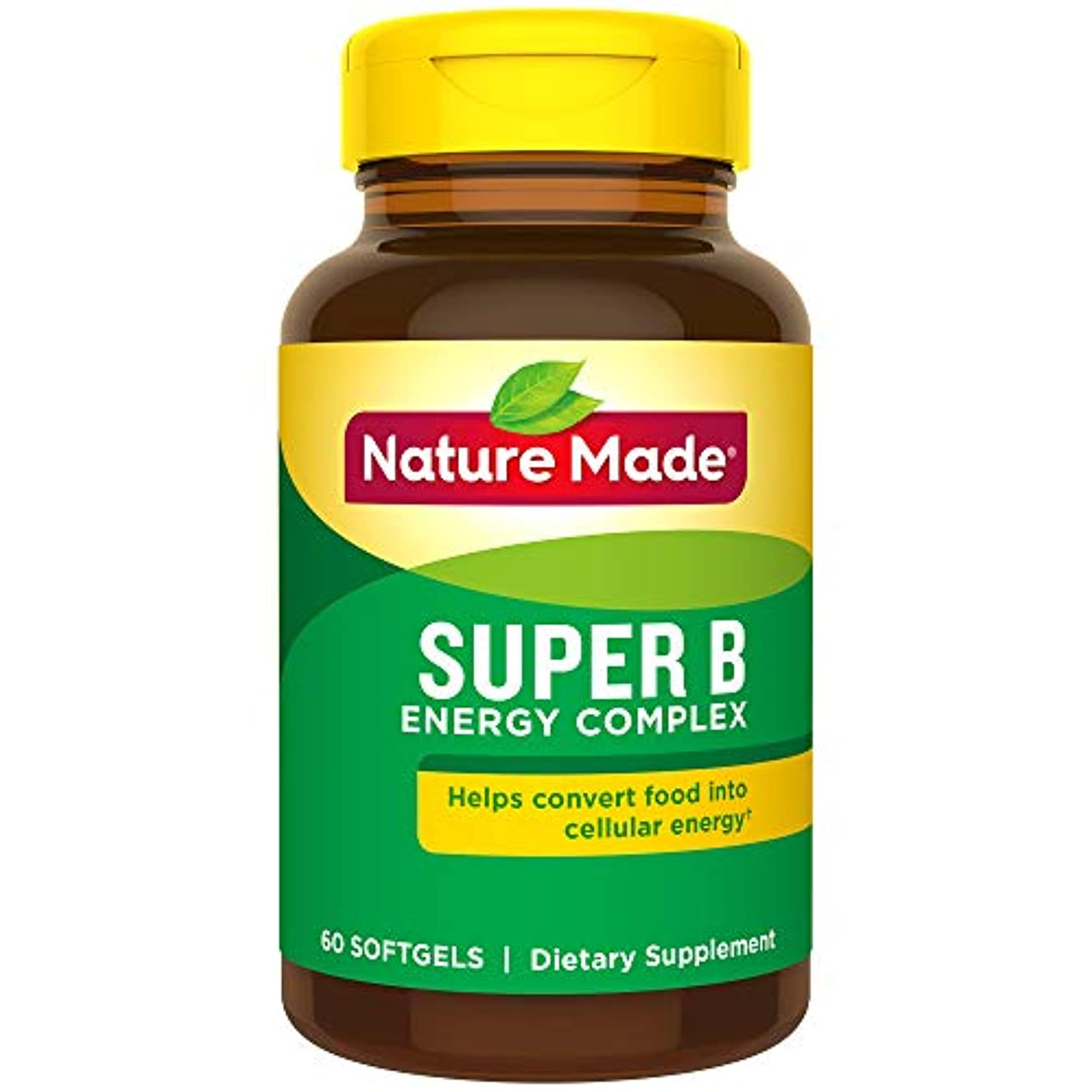 つぼみコモランマ韻Nature Made Super B Complex Full Strength Softgel, 60 Count (Packaging may vary) 海外直送品