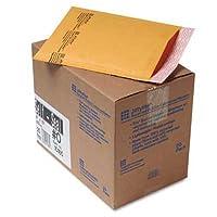 Sealed Air Jiffylite self-seal Mailer、サイドシーム、# 0, 6x 10、ゴールデンブラウン、25/カートン