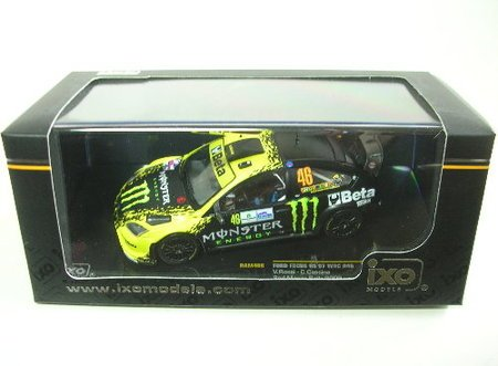 1/43scale IXO イクソ Ford Focus RS 07 #46 2nd Monza Rally 2009 フォード フォーカス モンッア ラリー