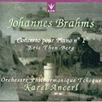 Ancerl Conducts Brahms: Piano Concerto No.1 (1958) and Beethoven: Rondo Op. 51 No. 2 for Piano (1957)