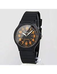 カシオ CASIO クオーツ メンズ 腕時計 MQ-71-4B ブラック/オレンジ[逆輸入品][kimp]