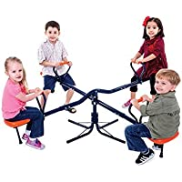 Children's Kids 4 Child See Saw SeeSaw Ages 3+ [並行輸入品]