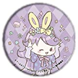 【紫藤める】 缶バッジ キラッとプリ☆チャン 05 イースターVer. (グラフアートデザイン)