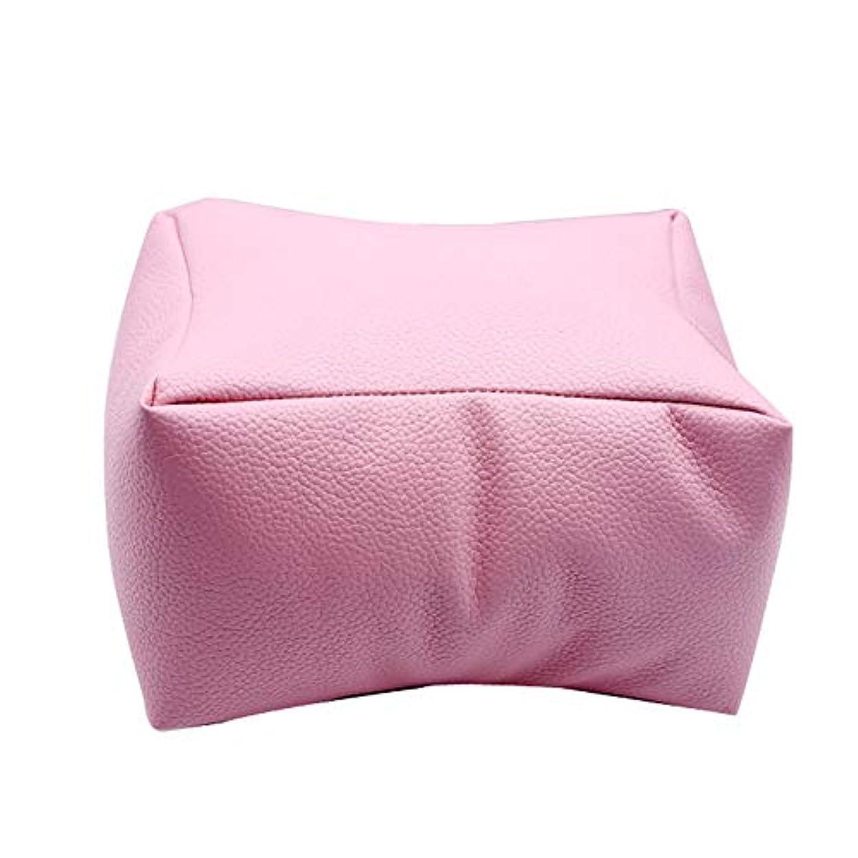 たくさん弱い着替えるMAYouth ネイルアートDIYマニキュアケアハンドアームレスト枕快適なPUレザー枕