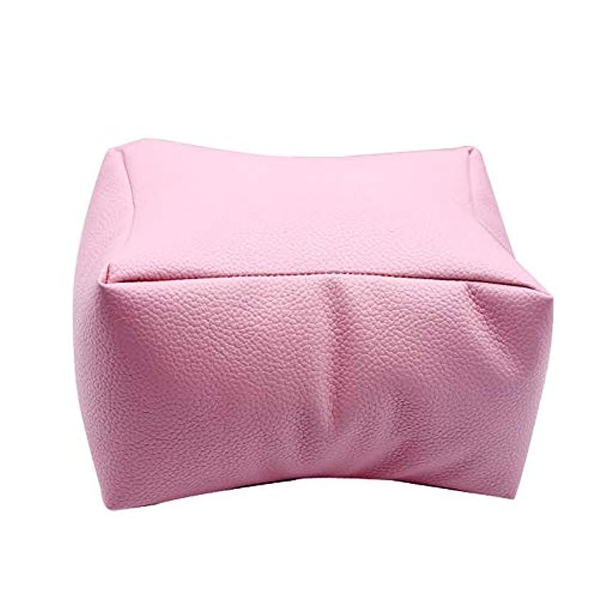 MAYouth ネイルアートDIYマニキュアケアハンドアームレスト枕快適なPUレザー枕