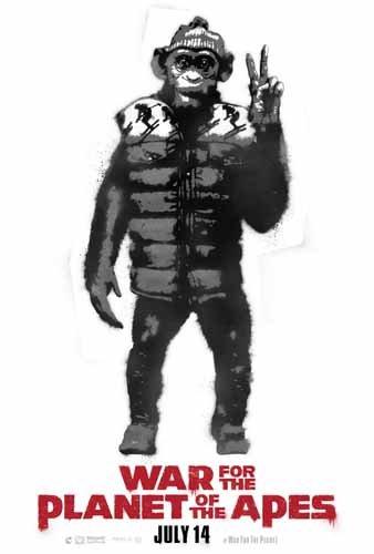 ポスター/スチール写真 A4 パターン2 猿の惑星 聖戦記 光沢プリント