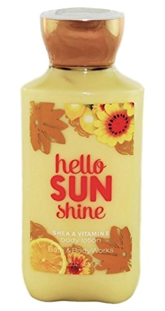 カーペットテレビ意味のあるBath & Body Works hello SUN shine body lotion 236ml 並行輸入品