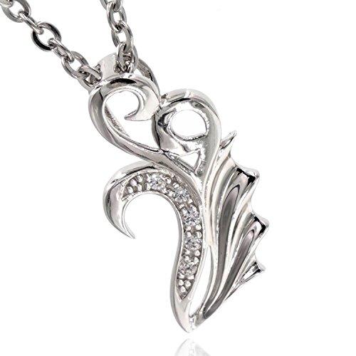 [해외][나삐스토] Napist 천사와 악마 실버 목걸이 NPNS067/[Napist] Napist angel and devil silver necklace NPNS 067
