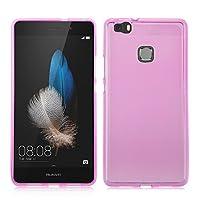 【IVSO】Huawei Honor 8 ケース, Huawei Honor 8 上質TPUカバー 極薄 落下防止 TPU ソフト ケース- Huawei Honor 8 専用上質カバー(ピンク)