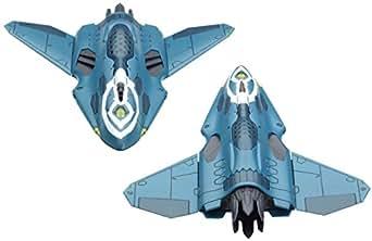 マクロスデルタ Sv-262Hs ドラケンIII (キース・エアロ・ウィンダミア機)対応リル・ドラケン+ミサイルポッド 1/72スケール 色分け済みプラモデル
